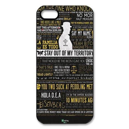 Rubber Étui de protection Case Cover Pour iPhone 55S Coque, Breaking Bad Housse Coque pour iPhone5, Soft en silicone skin Housse Coque Shell de protection pour iPhone 55S