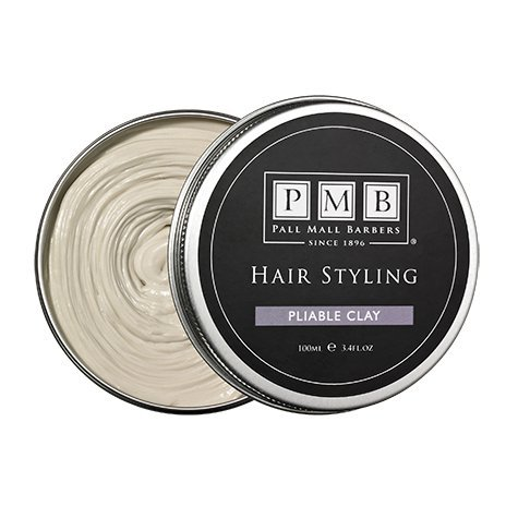 Pliable Clay 100ml - Styling Product For Men by Pall Mall Barbers - Since 1896