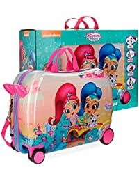 Shimmer and Shine Shiny Valigia per bambini, 50 cm, 34 liters, Multicolore (Multicolor)