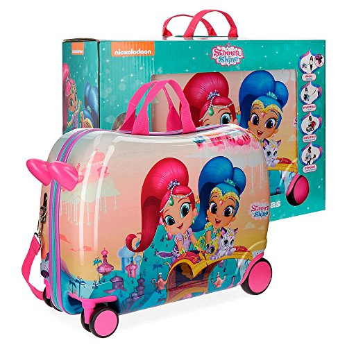 Shimmer And Shine Shiny Rolling Suitcase