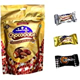 Arabian Delights White, Milk And Dark Chocolate With Almond, 100g