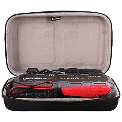 51Q7wdfUYyL. SS416  - LTGEM EVA estuche duro de transporte de almacenamiento de bolsa para NOCO Genius Boost Pro GB150 4000 Amp 12V UltraSafe Lithium Jump Starter