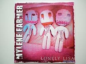 Mylene Farmer cd Promo, hors commerce Lonely Lisa Remixes rose