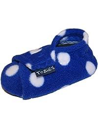 6a752ee88 TOZIES bebé infantil suave interior Play zapatos zapatillas antideslizante mantenerse  en color azul