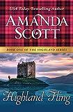 Highland Fling (Highland Series, Book 1) by Amanda Scott