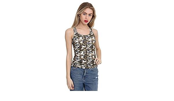 a7fe2cd8b218e GW Fashions Débardeur pour Fille avec Dos Nageur Camouflage Tutu - - 8-Ans   Amazon.fr  Vêtements et accessoires