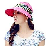 Yimidear® Faltbare Sommer Sonnenhut Weiblicher Hut Baseball Kappe Frauen Anti-UV