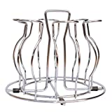 #8: Planet Glass Stand : Stainless Steel (Nickel Chrome)