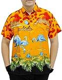 la Leela chemise hawaïenne poche avant pour les hommes manches ...