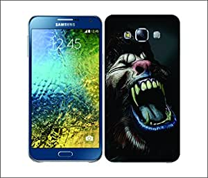 Galaxy Printed 2164 Horror Classic Wolfman Hard Cover for Samsung A7
