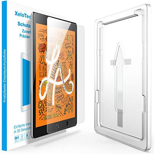 XeloTech Schutzglas 7.9 Zoll passend für iPad 5 Mini & 4 Mini - Mit Schablone für passgenaue Installation