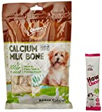 #3: Gnawlers Calcium Milk Bones, 12 pieces, 270 g (Medium) with Free Howbone Jow Chewy, 10 g