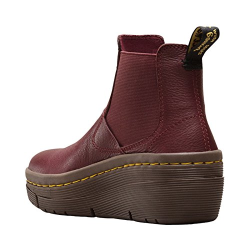 Dr.Martens Womens Brienna Leather Boots Cherry Red