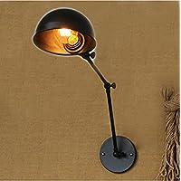 Coquimbo Loft Retro Fai Da Te Industriale Regolabile Swing Braccio Metallico Lampada Da Parete Lampada Da Parete Apparecchio Senza Lampadina