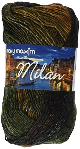 Mary Maxim Bosque Yarn-Charcoal