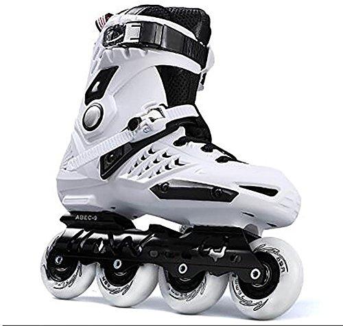 Lindo adulto patines en línea de interior/exterior , white , 38