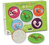 Crea Stempelset Farmtiere für Kleine Kinderhände, 6-teilig