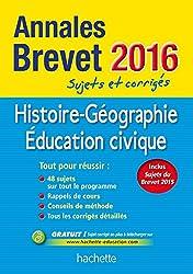 Annales 2016 Hist/Géo 3E