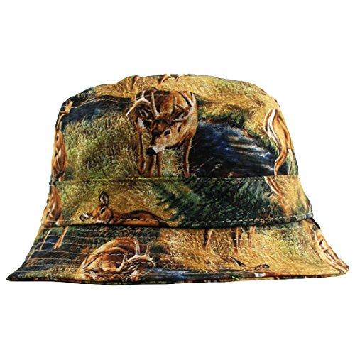 Agora Deer Bucket Hat Chapeau
