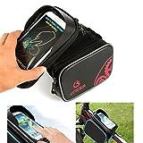 Oberrohrtasche Fahrrad Rahmentasche / 5,5 Zoll Handy Fahrradtasche Rennrad / Lenkertasche für Mountainbike / Vorne Befestigung für Smartphone / Fahrradzubehör Taschen