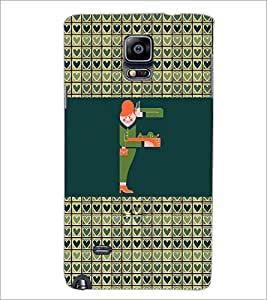 PrintDhaba GRANDbet F D-2594 Back Case Cover for SAMSUNG GALAXY NOTE 2 (Multi-Coloured)