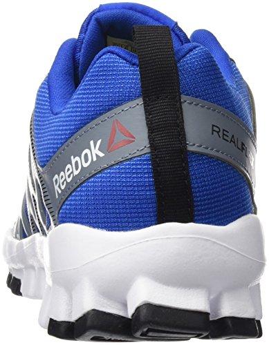 Reebok Realflex Train 4.0, Sneakers Garçon Bleu (Awesome Blue/asteroid Dust/black/white)
