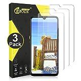 CRXOOX [3 Stück] Panzerglas Schutzfolie für Xiaomi Redmi Note 7/Redmi Note 7 Pro, [Anti-Kratzer/Anti-Öl] [Blasenfrei] [3D Touch Kompatibel/9H Härte] - Transparent