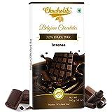#8: Chocholik Belgium Chocolates Dark 70% Intense Bar 100gms