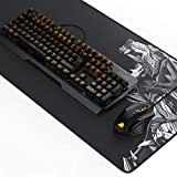"TITANWOLF Gaming Set - mechanische Tastatur ALUMAR + MMO 10800dpi Gaming Maus ""Specialist"" + XXL Mauspad 