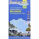 Fluviacarte 23 Belgique - Itinéraires fluviaux: Karte der Binnenschifffahrtswege Belgien