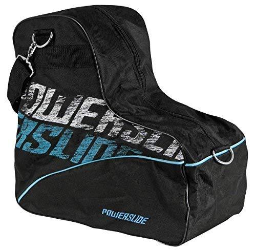 Powerslide Skate Bag Tasche, Schwarz, 38 x 20 x 40cm