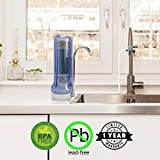 APEX Countertop Drinking Water Filter - Alkaline (Clear) by Apex