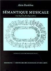 SEMANTIQUE MUSICALE