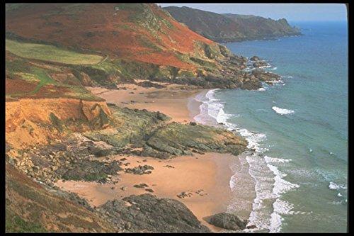 291077 Towards Prawle Point (Devon's Southernmost Point) A4 Photo Poster Print 10x8