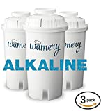 Alkaline Water Filter Replacement for Wamery and Brita Pitcher. Ionizer and Purifier Cartridge