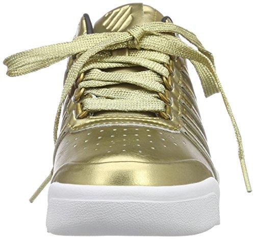 K-Swiss Gstaad S Big Logo Damen Sneakers Gold (GOLD/WHITE 720)