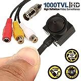 1000TVL Micro espion Mini HD Caméra Audio/vidéo espion caméra de sécurité CCTV