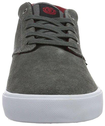 Element Preston Herren Sneakers, Baskets Basses Homme Gris - Grau (18 Charcoal)