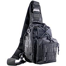 Shark Army militare esercito tattico zaino Outdoor Rover spalla Sling Pack petto Pack MBB007
