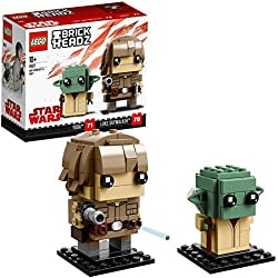 Brickheadz Luke Skywalker e Yoda, 41627