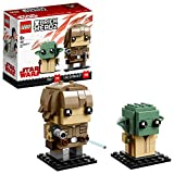 LEGO BrickHeadz Luke Skywalker & Yoda (41627) – Star-Wars-Spielzeug