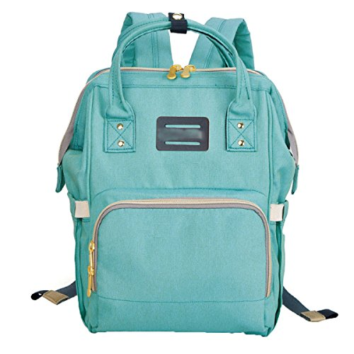 FZHLY Zaino Moda Multifunzionale Grande Capacità Borsa A Tracolla Outdoor,ColorBlue Green