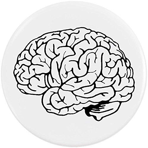 pin cerebro redondo