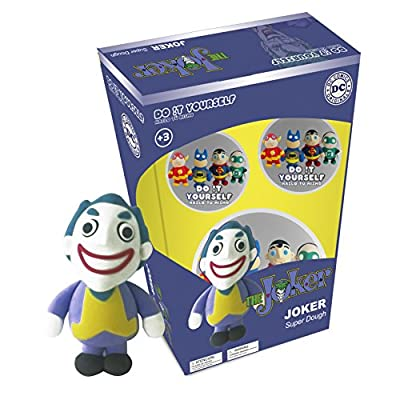SD Toys - DC Comics D!Y Super Dough pâte à modeler The Joker