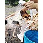 Portable Shower Camping Shower Outdoor Shower,Built-in 4800mAh Battery,Electric Handheld Rechargeable Shower,Pumps Water…