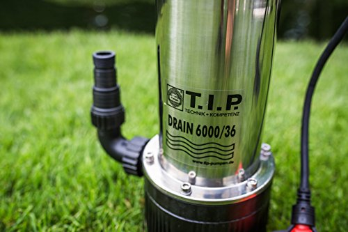 T.I.P. Drain 6000/36 Tauchdruckpumpe - 7