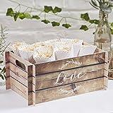 Ginger Ray Holz Effekt-Karte Box Box ideal für Hochzeiten und Partys ? Schöne Botanics
