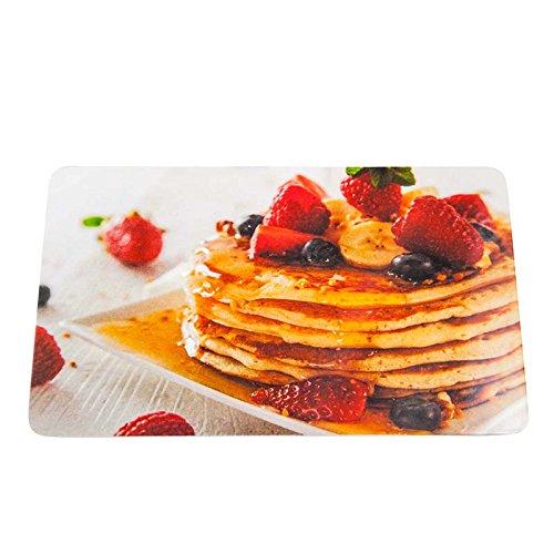 Colour-Bags Home & Living Frühstücksbrettchen/Schneidebrettchen Pancakes, 13 x 22 cm, aus Melamin lebensmittelecht - für DE ab EUR 29,00