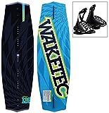 WAKETEC Wakeboard WildRide 138 cm, Package mit OnSet Bindung, Größe:L-XL