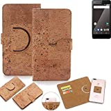 K-S-Trade 360° Cover cork Case for Blaupunkt SL 01 |
